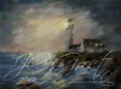 The lighthouse digital painting